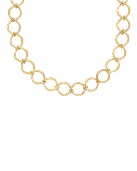Jamie Wolf 18k Aladdin Chain-Link Necklace