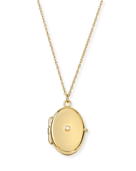 Eliana Locket Pendant Necklace