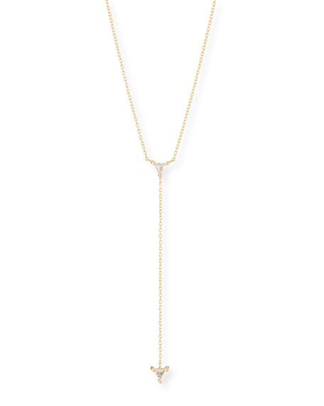 Jennifer Zeuner Ava Lariat Necklace w/ Sapphires