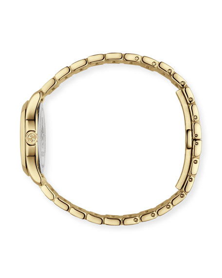 Gucci 27mm G-Timeless Icon-Indices Watch w/ Bracelet Strap