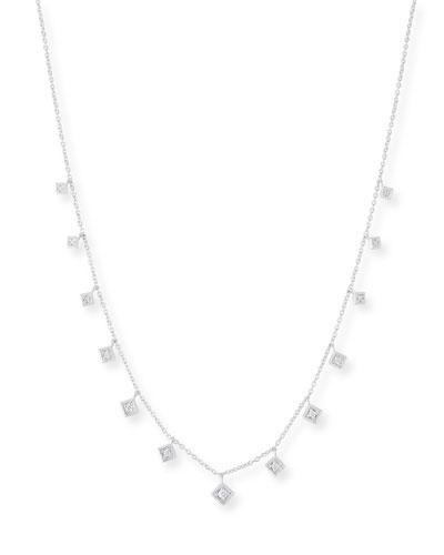 18k Lisse Dancing Diamond Necklace