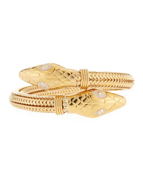 Gas Bijoux Cobra Bypass Bracelet