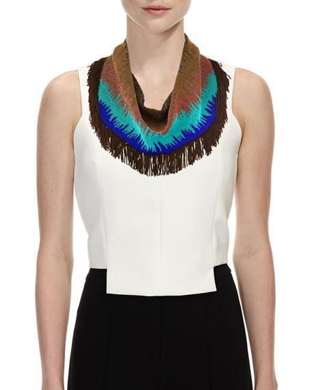 Sonia Fringe Scarf Necklace