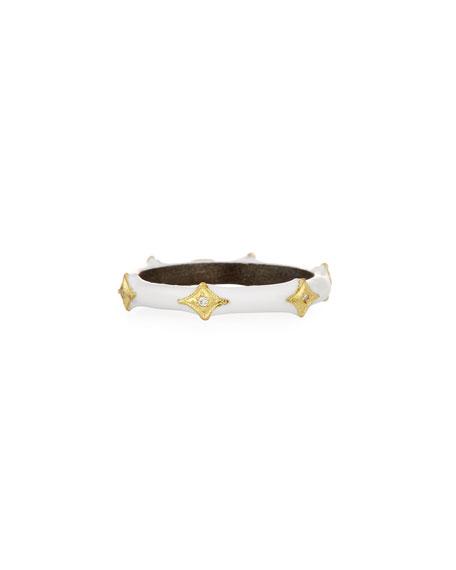 Armenta Old World 18k Crivelli Enamel Stack Band Ring