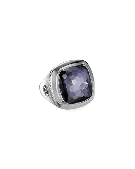 David Yurman Albion Black Orchid Statement Ring