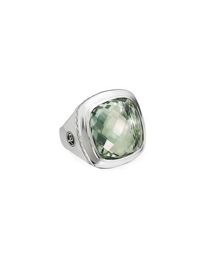 Albion Silver Sage  Statement Ring