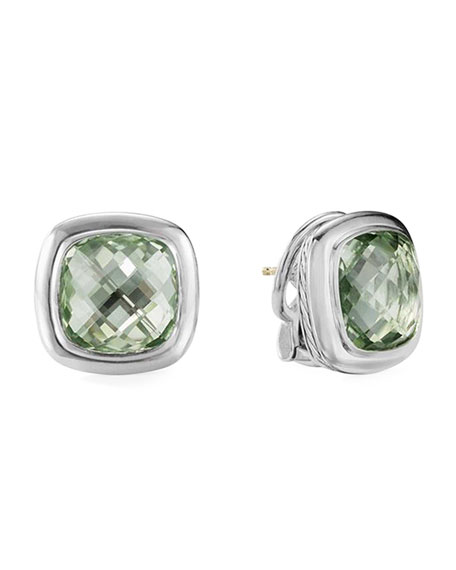 David Yurman Albion Prasiolite Stud Earrings