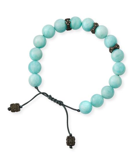 Armenta New World Corded Amazonite Bracelet