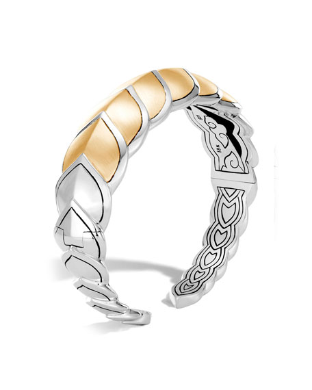 Legends Naga 18k Gold Flex Cuff, Size M