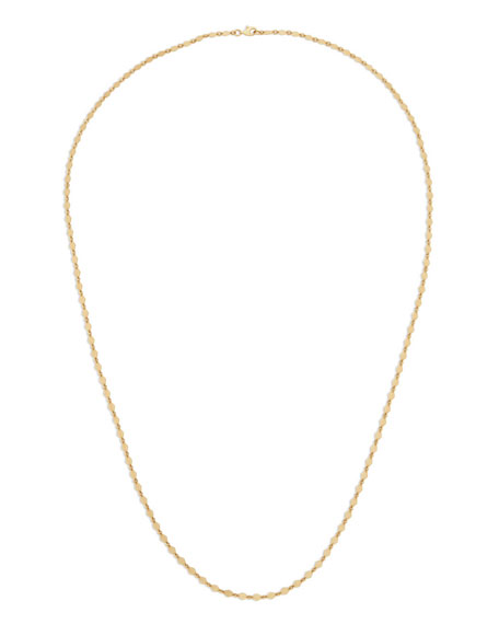 14k Long Kite Necklace, 30""