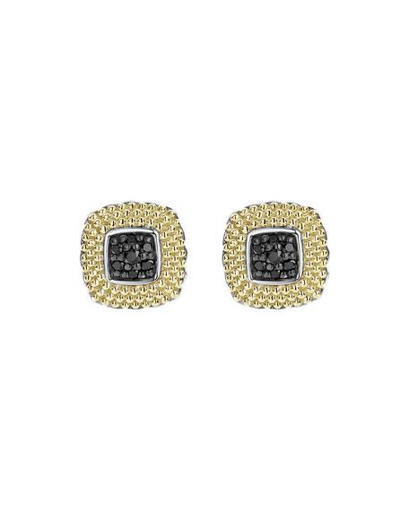LAGOS 11mm Lux Diamond Stud Earrings