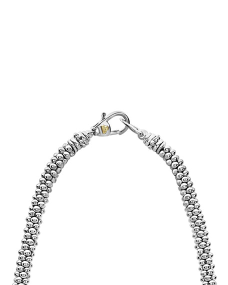 LAGOS Caviar Diamond Lux 5mm Necklace