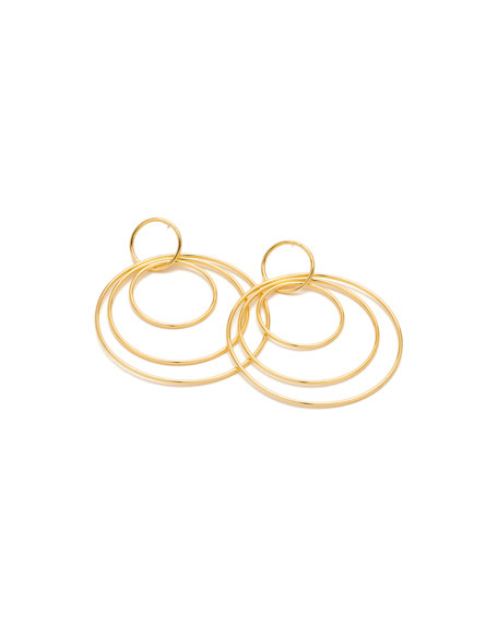 Wilshire Concentric Hoop Earrings