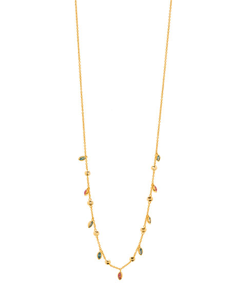 gorjana Rumi Confetti Adjustable Necklace