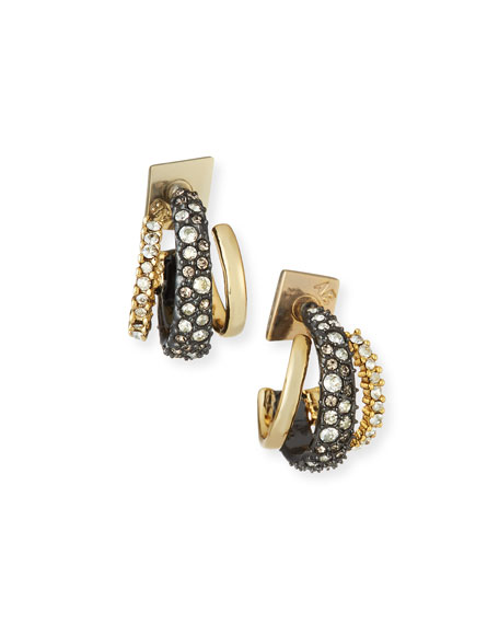 Alexis Bittar Floating Orbit Stud Earrings