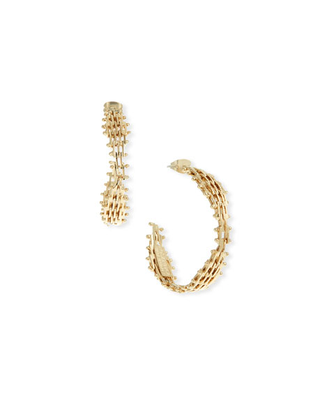 Rosantica VOLUTTA HOOP EARRINGS