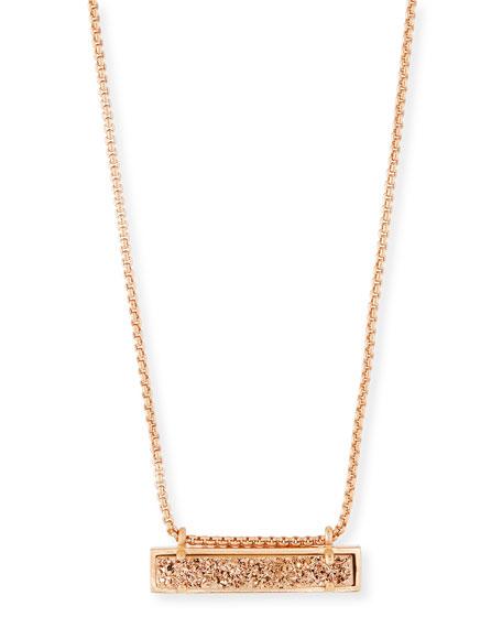 Leanor Druzy Pendant Necklace
