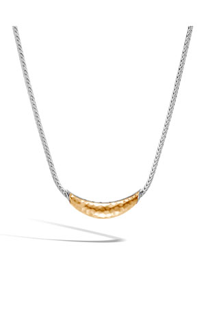 John Hardy Classic Chain Arch Necklace w/ 18k Gold