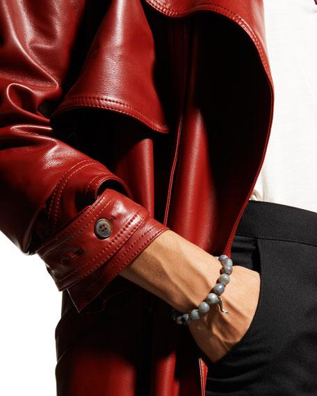 Sydney Evan Labradorite & Diamond Stiletto Bracelet
