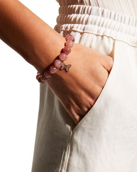 Sydney Evan Muscovite & Diamond Butterfly Bracelet