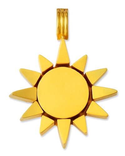 Hinged Sun Pendant