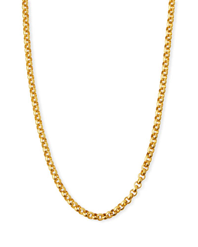 Rolo Chain Necklace, 36