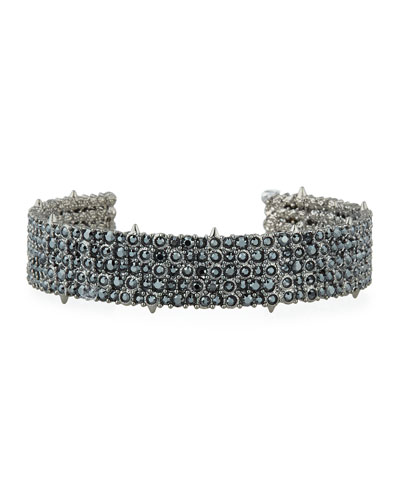 Crystal Pave Cuff Bracelet