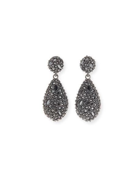Alexis Bittar Crystal Encrusted Dangle Post Earrings