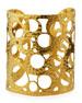 Multi-Circle Wide Cuff Bracelet