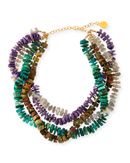 Devon Leigh Multicolor Twist Necklace