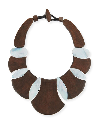 Bellisima Wood Necklace
