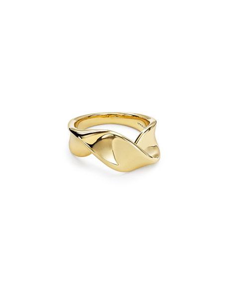 Ippolita 18k Classico Twisted Ribbon Ring