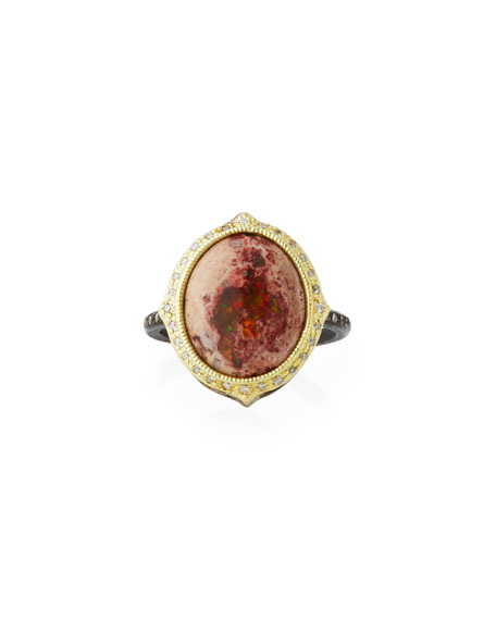Armenta Old World Mexican Fire Opal Ring
