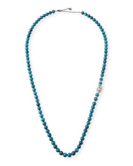 Armenta Old World Apatite & Boulder Opal Bead