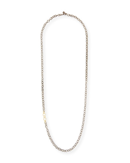 "Image 1 of 2: Armenta Old World Thick Circle-Link Necklace, 32""L"