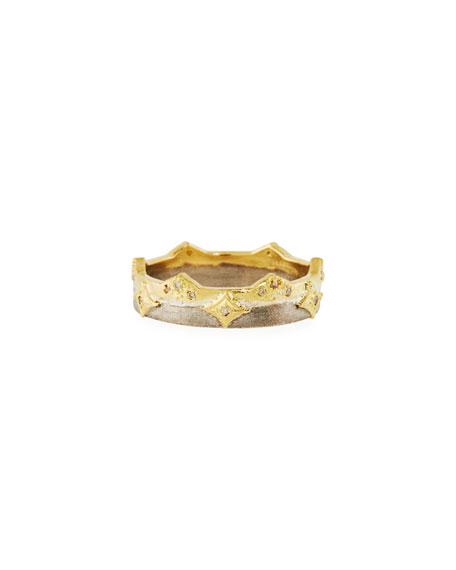 Armenta Old World Crivelli Wide Band Ring