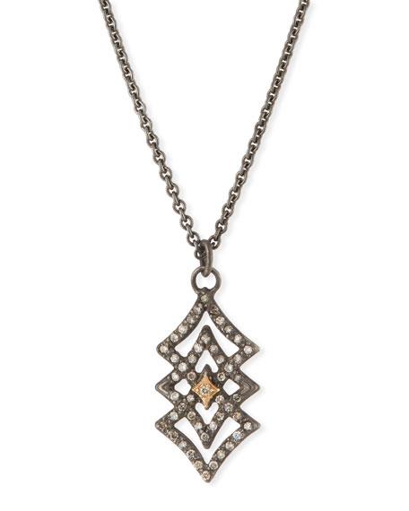 Armenta New World Diamond Crivelli Pendant Necklace