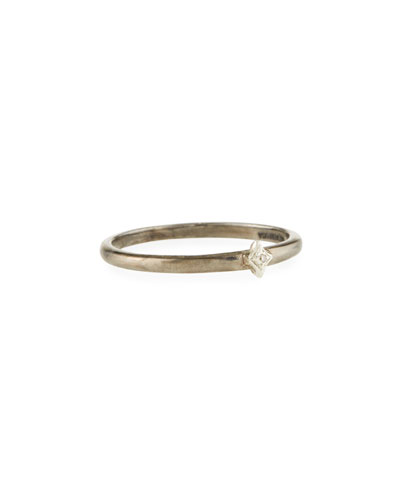 New World Single Diamond Crivelli Ring