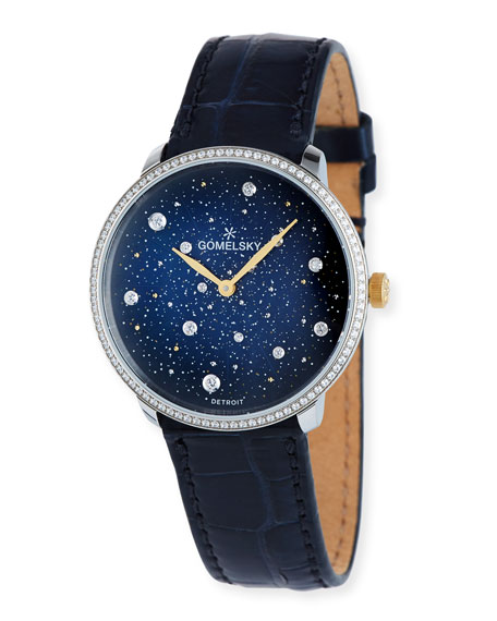 Gomelsky 36mm The Audrey Starry Nights Watch