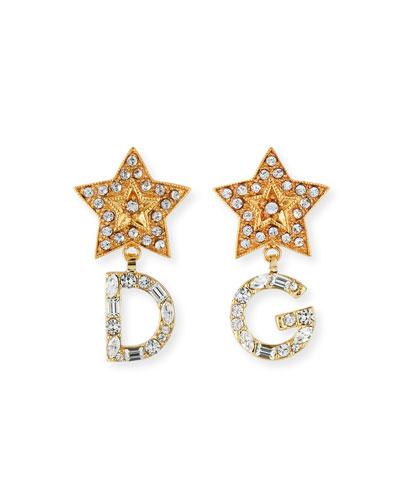 DG Crystal Star Earrings