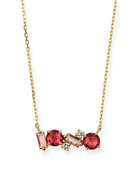 KALAN by Suzanne Kalan 14k Gold Mini Pink