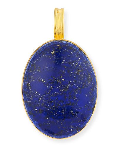 Blue Lapis Oval Pendant