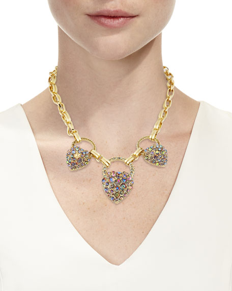 Lulu Frost Nina Triple-Drop Necklace