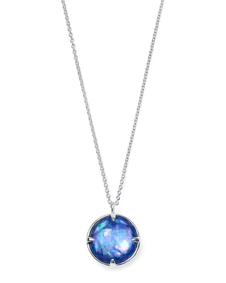 """Ippolita Rock Candy Silver Pendant Necklace in Royal Doublet, 31"""""""