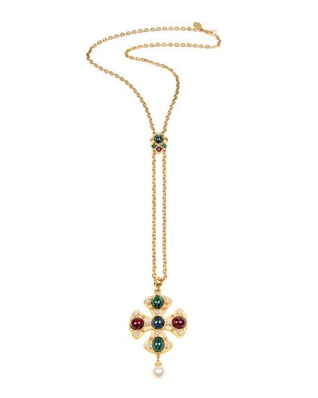 Ben-Amun Double Pendant Necklace