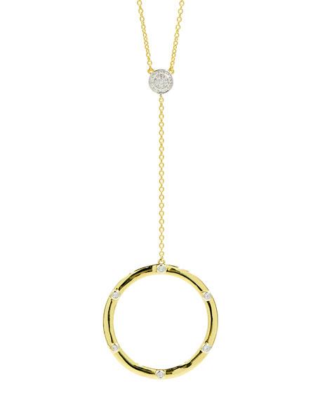 Freida Rothman Radiance Y-Drop Pendant Necklace