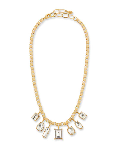 Crystal Short Shaker Necklace