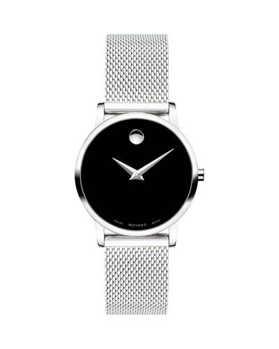 28mm Museum Classic Mesh Bracelet Watch