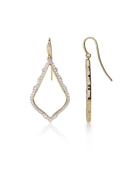 Kendra Scott Sophia 14k Gold & Diamond Drop Earrings