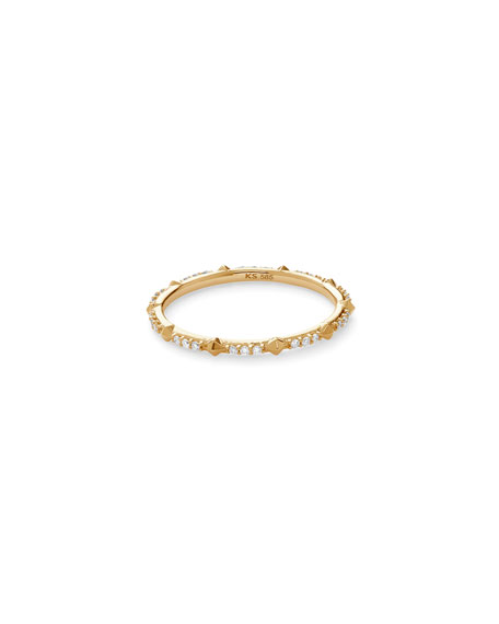 Kendra Scott 14k Gold Astrid Diamond & Stud